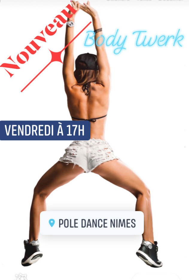 Cours de body Twerk chez Pole Dance Nimes